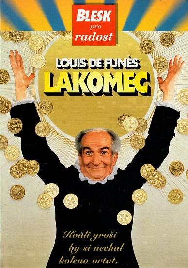 Lakomec ( pošetka ) - DVD
