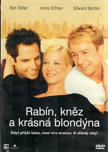 Rabín, kněz a krásná blondýna ( plast ) - DVD