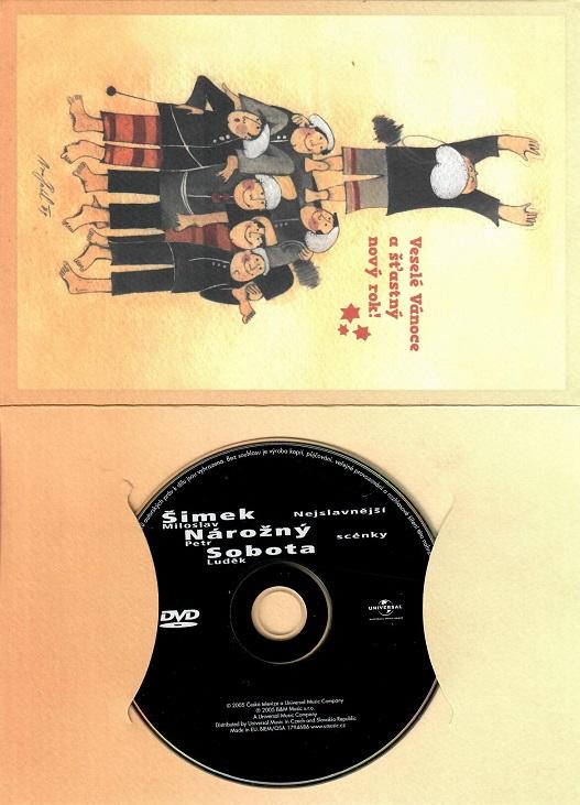 Šimek - Nárožný - Sobota - Nejslavnější scénky ( dárkový papír obal ) - DVD