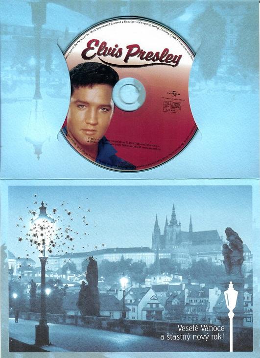 Elvis Presley - Love songs ( dárkový papír obal ) - CD