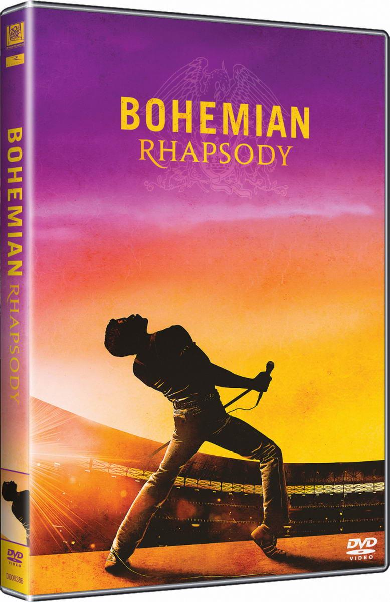 Bohemian Rhapsody - DVD plast