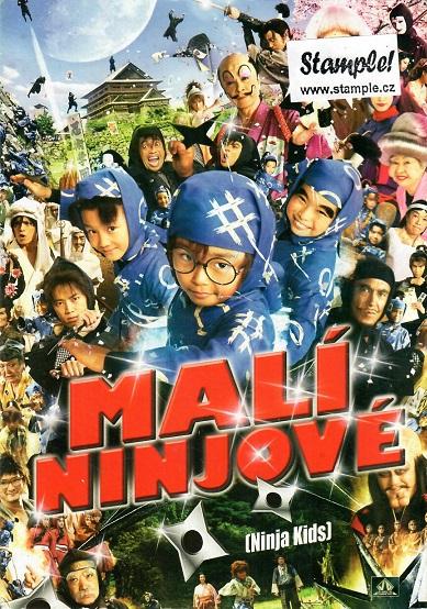 Malí ninjové - pošetka DVD