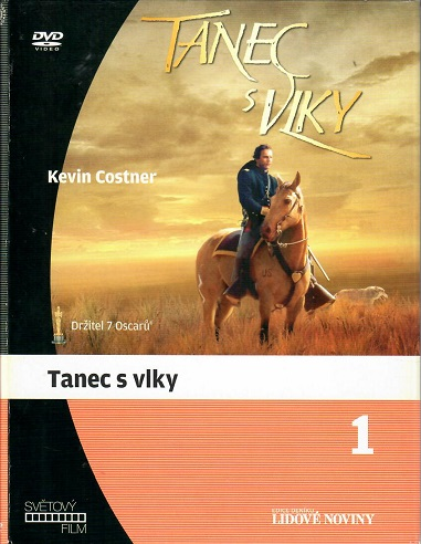 Tanec s vlky ( bazarové zboží ) - digipack DVD