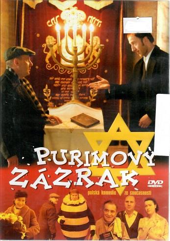 Purimový zázrak - plast DVD