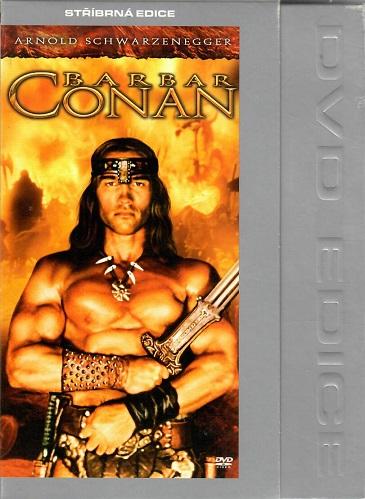 Barbar Conan ( bazarové zboží ) - digipack DVD