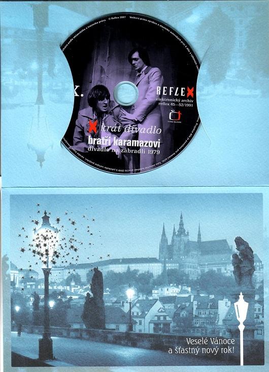 Bratři Karamazovi - X - krát divadlo ( dárkový papír obal ) - DVD