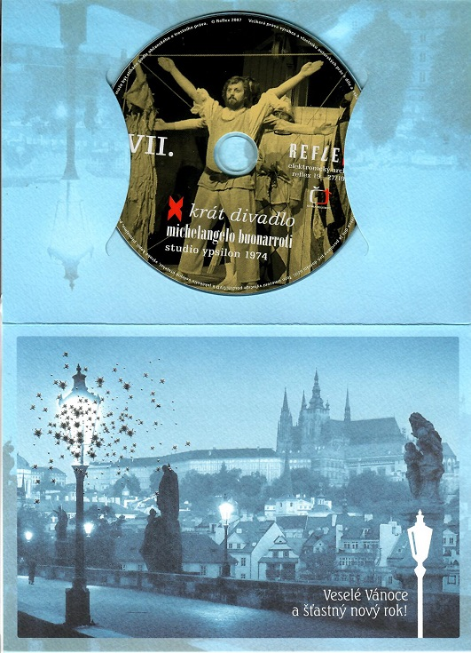 Michelangelo Buonarroti - X krát divadlo ( dárkový papír obal ) - DVD