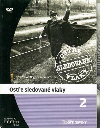 Ostře sledované vlaky ( digipack ) - DVD