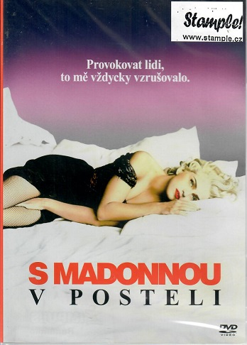 S Madonnou v posteli - plast DVD