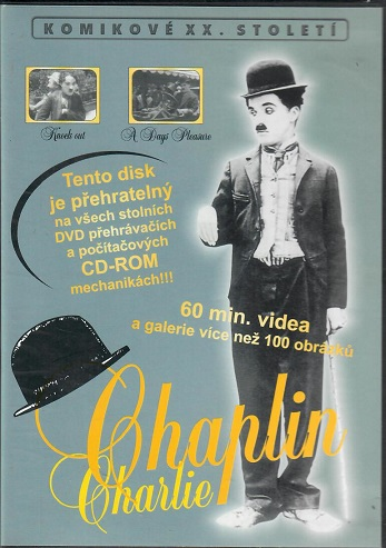 Chaplin Charlie - 60 min videa a galerie více než 100 obrázků - Plast DVD