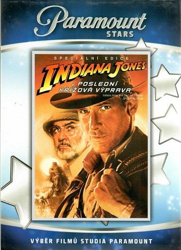 Indiana Jones a poslední křížová výprava SCE - Plast DVD
