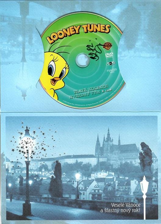 Looney Tunes: Hvězdný tým 2.část ( dárkový papír obal ) - DVD