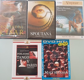 Kolekce Bernardo Bertolucci a Tinto Brass-5 DVD