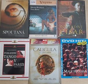 Kolekce Bernardo Bertolucci a Tinto Brass-6 DVD