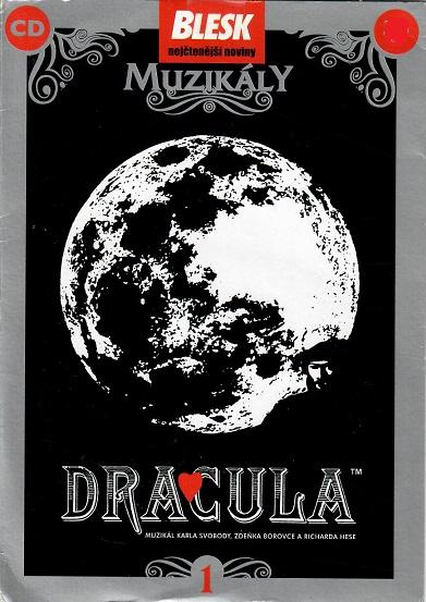 Dracula - muzikál CD - pošetka CD
