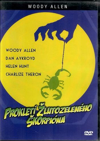 Prokletí žlutozeleného škorpióna (originální znění s CZ titulky) - plast DVD