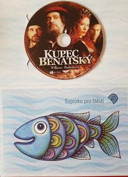 Kupec benátský(dárkový obal)-DVD