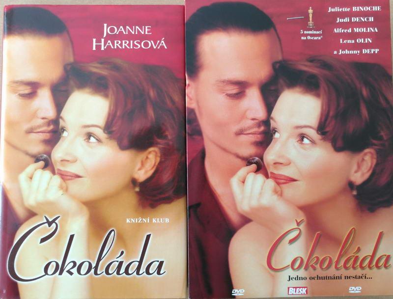Čokoláda - Joanne Harrisová - kniha + DVD