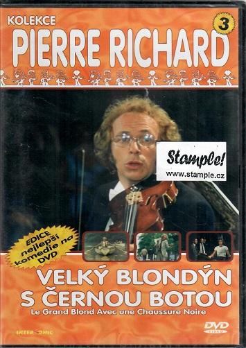 Velký blondýn s černou botou ( plast ) - DVD