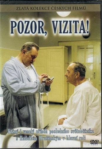 Pozor, vizita! ( slim ) - DVD