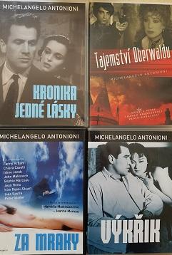 Kolekce Michelangelo Antonioni-4 DVD