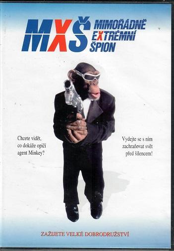 MXŠ - mimořádně extremní špion ( slim ) - DVD