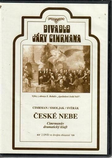 České nebe: Cimrmanův dramatický kšaft (divadelní záznam) - slim DVD
