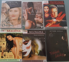 Kolekce Giuseppe Tornatore, Ettore Scola, Paolo Sorrentino-6 DVD