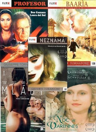 Kolekce Giuseppe Tornatore,Ettore Scola,Paolo Sorrentino - 5 DVD