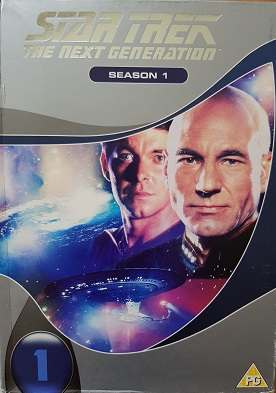 Star Trek: The next generation-season 1(bazarové zboží)-DVD