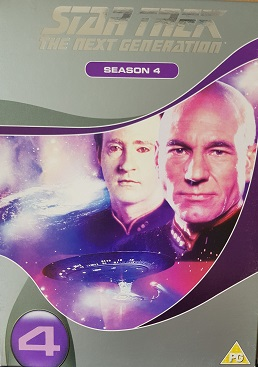 Star Trek:The next Generation 4 season - DVD