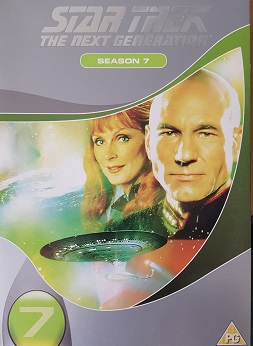 Star Trek:The next Generation 5 season - DVD