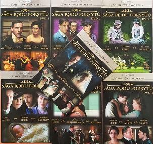 Kolekce Sága rodu Forsytů 7 DVD/komplet/