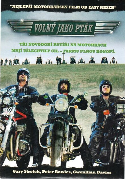 Volný jako pták - DVD pošetka