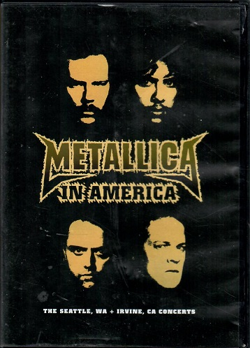 Metallica - In America - DVD