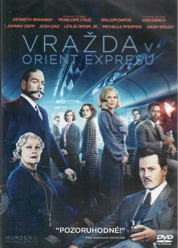 Vražda v Orient expresu (2017) - Plast DVD