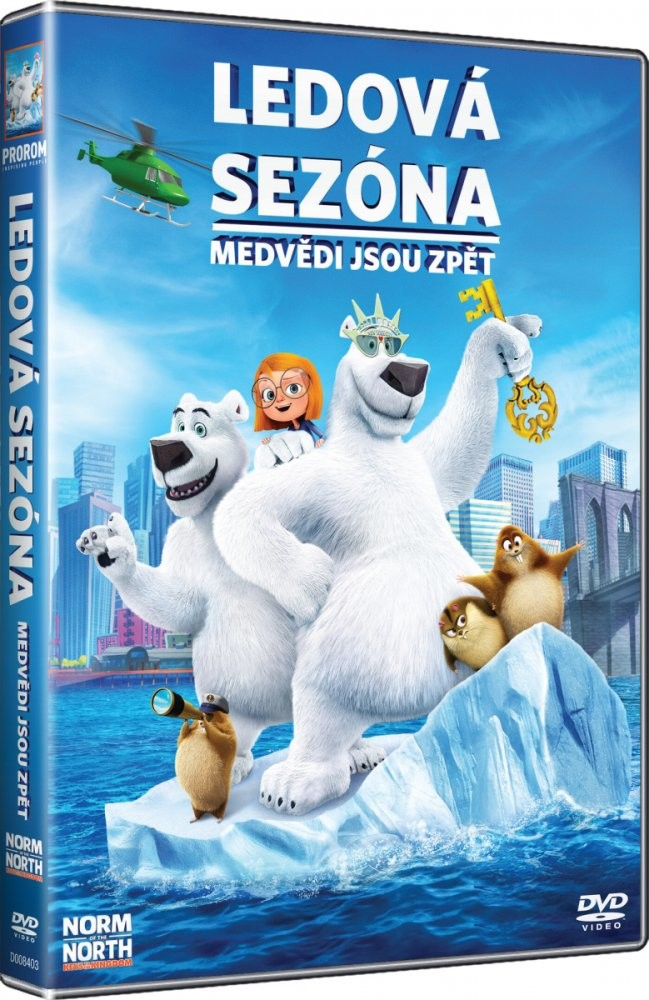 Ledová sezóna: Medvědi jsou zpět - DVD plast