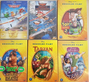 Kolekce Disney-6 DVD
