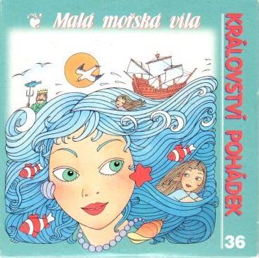 Malá mořská víla - CD pošetka