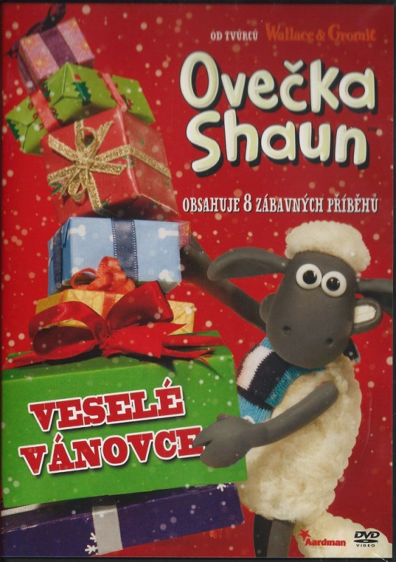 Ovečka Shaun - Veselé Vánovce - DVD plast