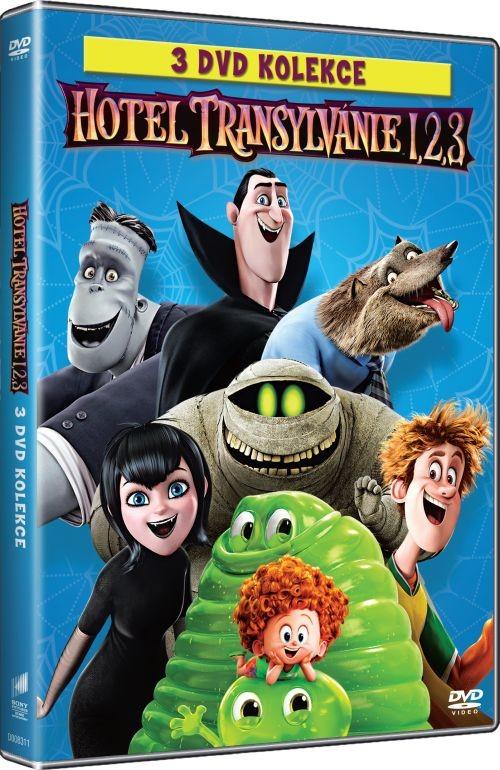 Hotel Transylvánie 1 - 3 - DVD plast