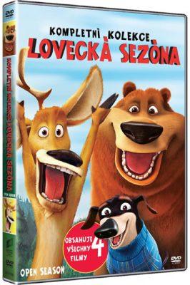 Lovecká sezóna 1 - 4 - DVD plast