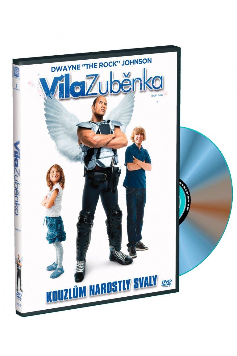 Víla Zuběnka - DVD plast