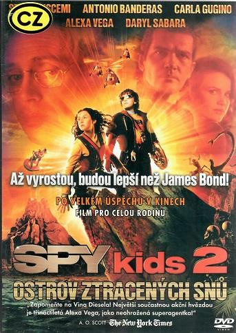 Spy Kids 2: Ostrov ztracených snů ( plast ) - DVD