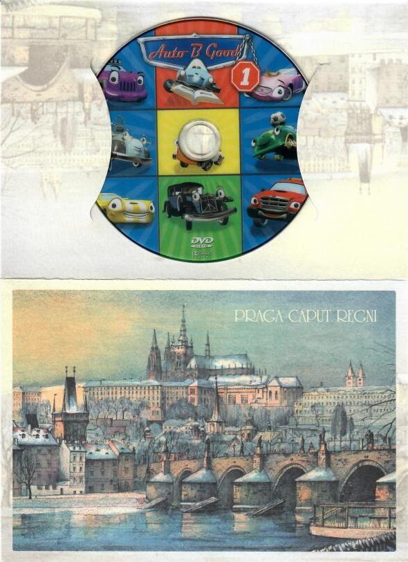 Autíčka 1 - DVD - dárková obálka