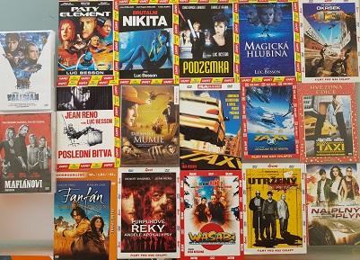 Kolekce Luca Bessona-17 DVD