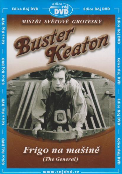 Buster Keaton: Frigo na mašině - DVD