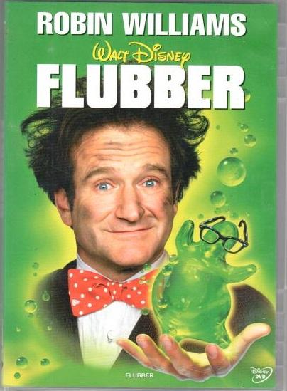 Flubber - DVD plast