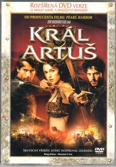 Král Artuš +Ztracený disk Pirátů z Karibiku -  DVD plast