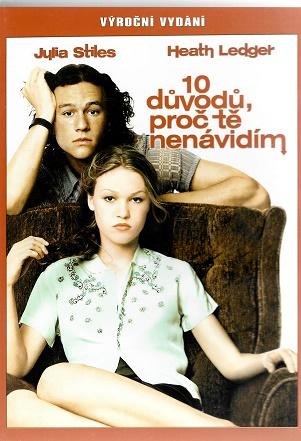 10 důvodů proč tě nenávidím ( plast ) DVD